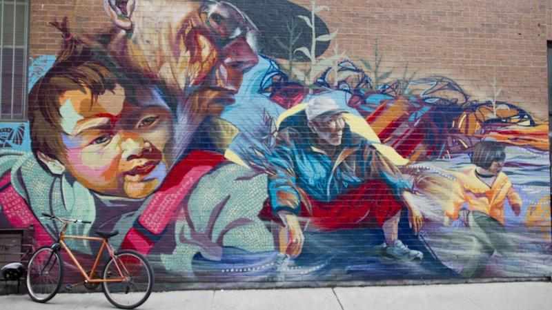 Toronto Chinatown Mural