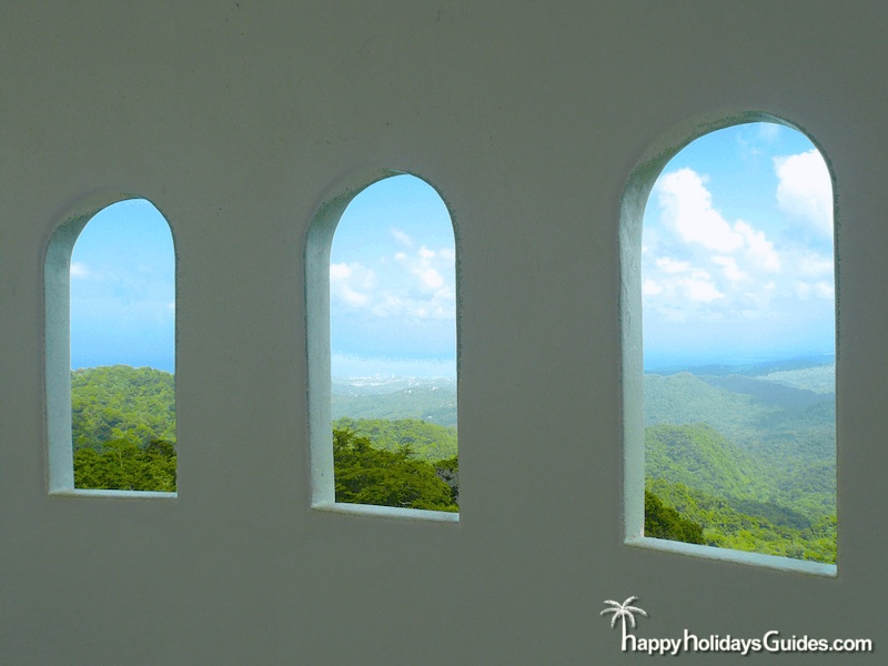 El Yunque Observation Tower Windows