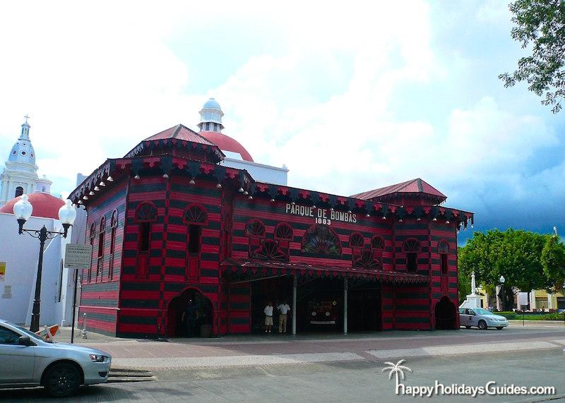 Ponce PR Parque de Bombas
