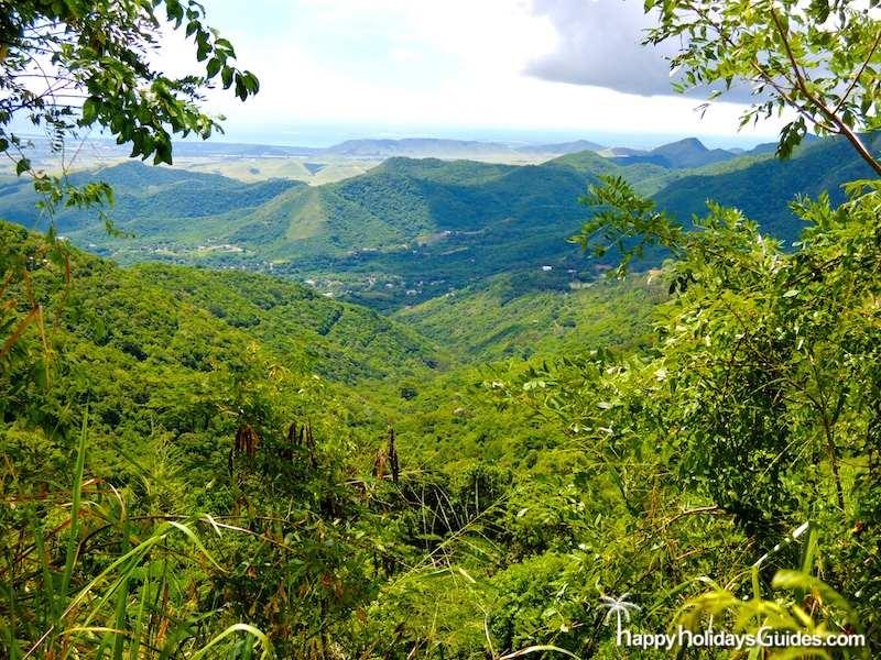 Puerto Rico Mountain Range