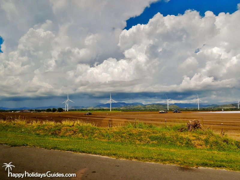 Puerto Rico Wind Farm Windmills