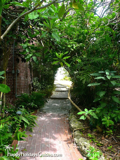 Key West Garden Club Path