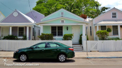 Key West Style Homes Pastel Bungalows