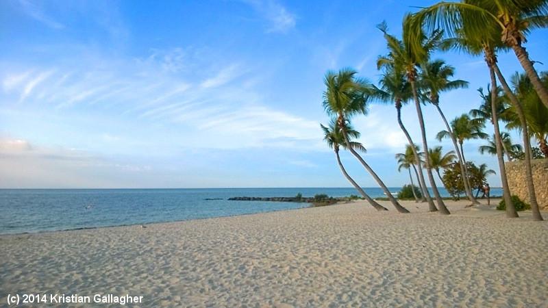 Smathers Beach Postcard