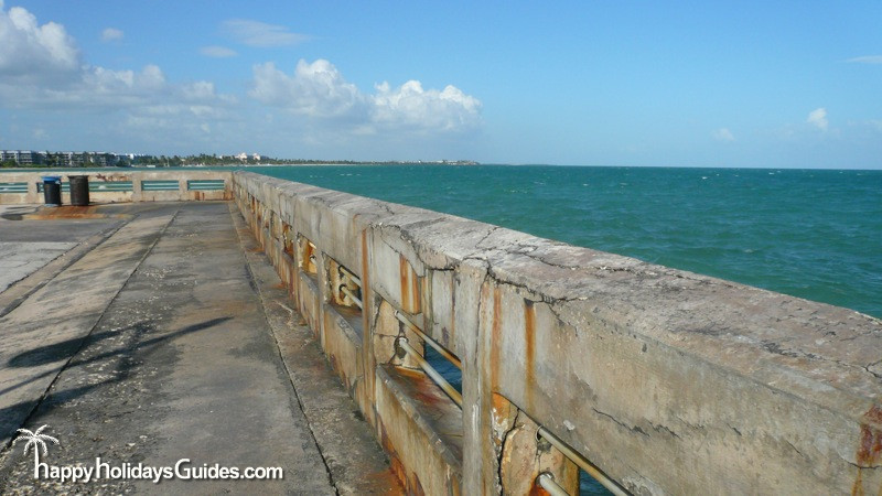 White Street Pier Wall View