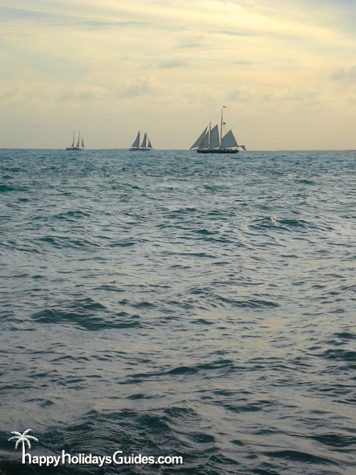 fort zachary taylor state park sailboats