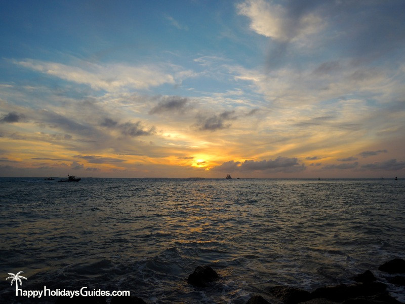 fort zachary taylor state park sunset