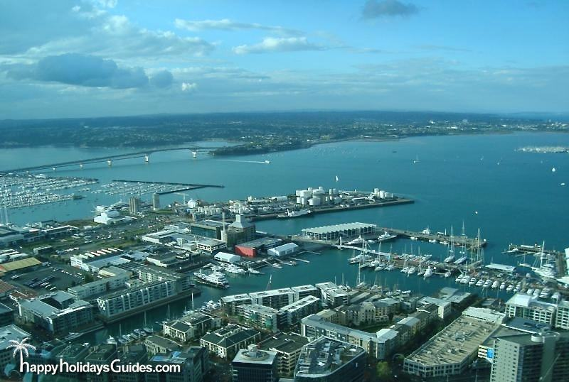 Auckland Skytower View 2