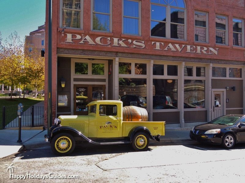 Downtown Asheville Pack's Tavern