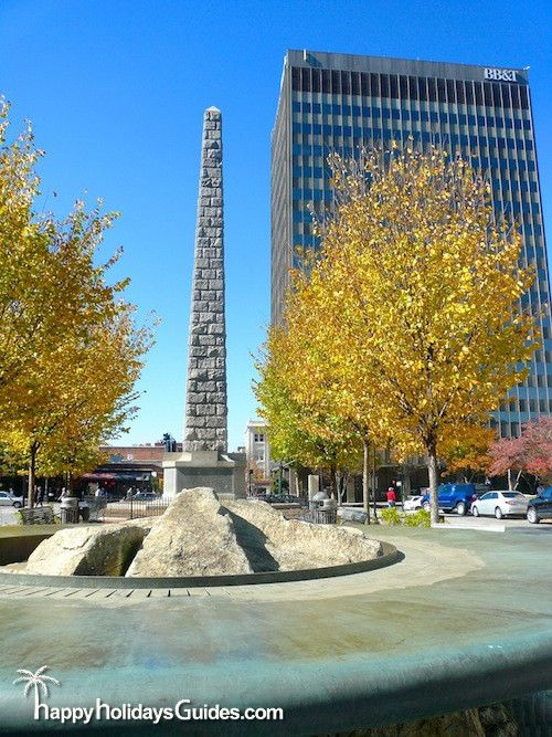 The Vance Monument Downtown Asheville