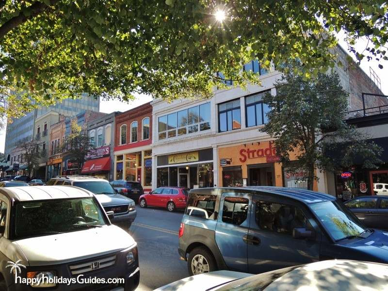 Broadway Street Downtown Asheville