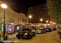 Downtown Asheville Night
