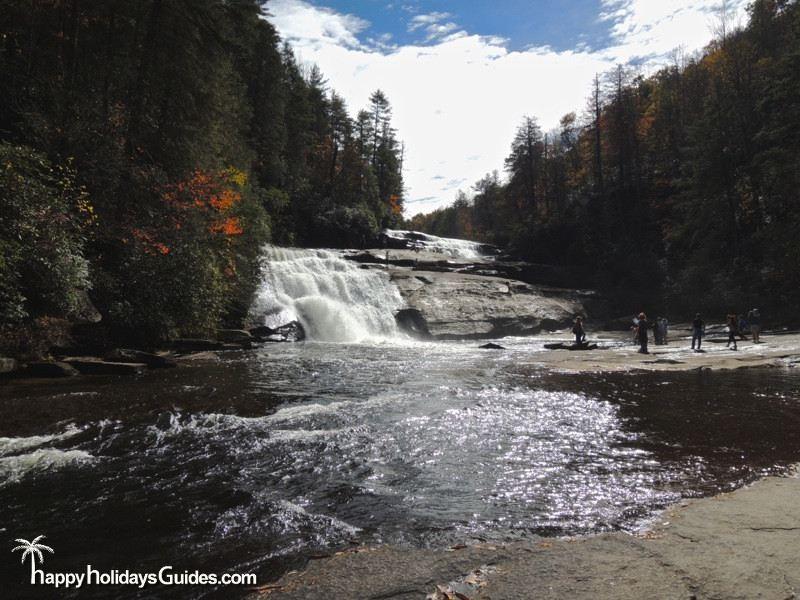 Triple Falls DuPont State Park