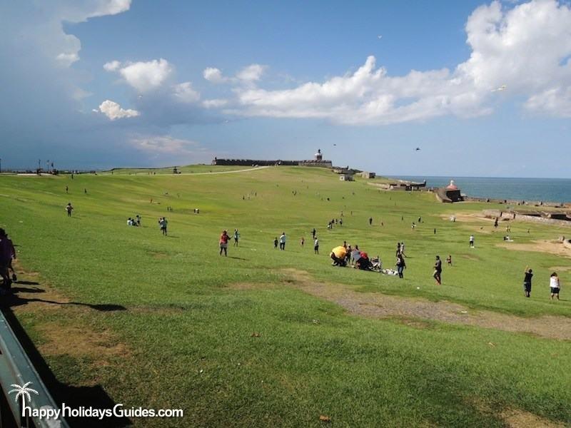 El Morro Park Puerto Rico