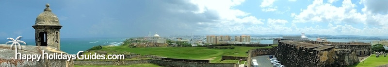 Old San Juan Cristobal Castle Pano 1
