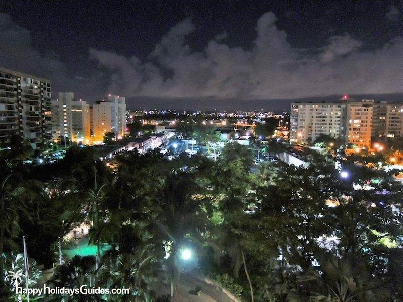 San Juan Hotel Night
