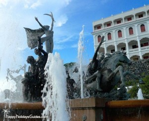 The Raices Fountain PR