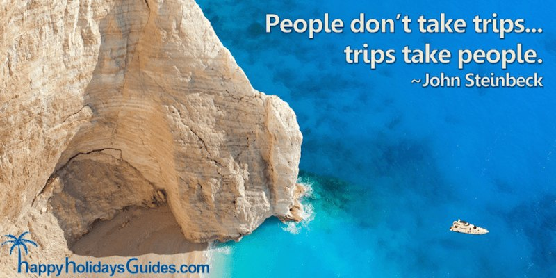 Travel Quote J Steinbeck