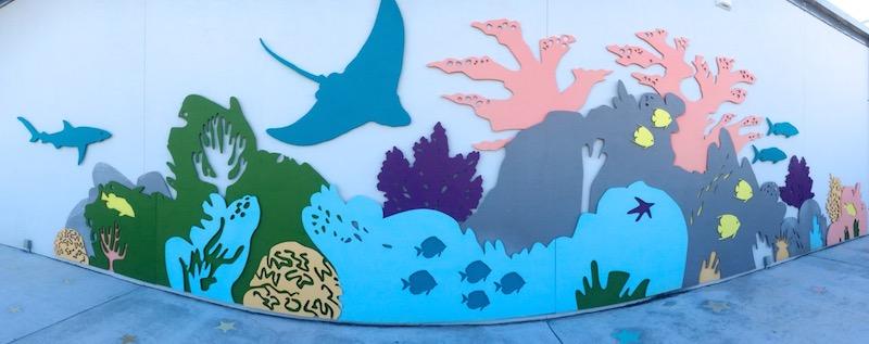 Florida Keys Eco Discovery Mural