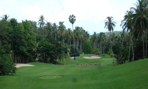 Koh Samui's golf courses