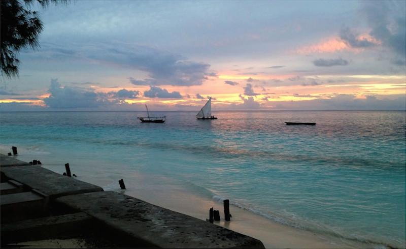 Travel to Zanzibar Sailboats