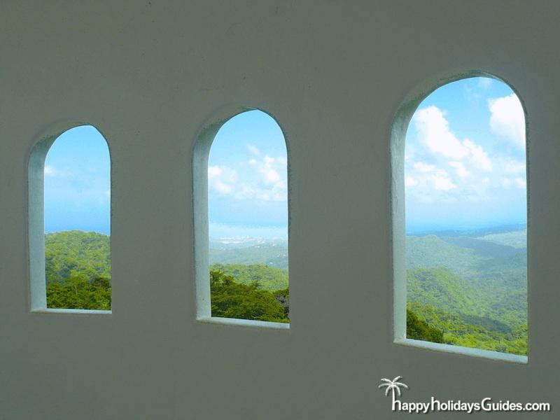 El Yunque Observation Tower Windows
