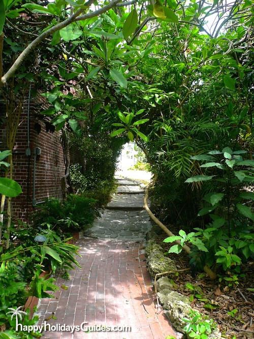 Key West Garden Club Path