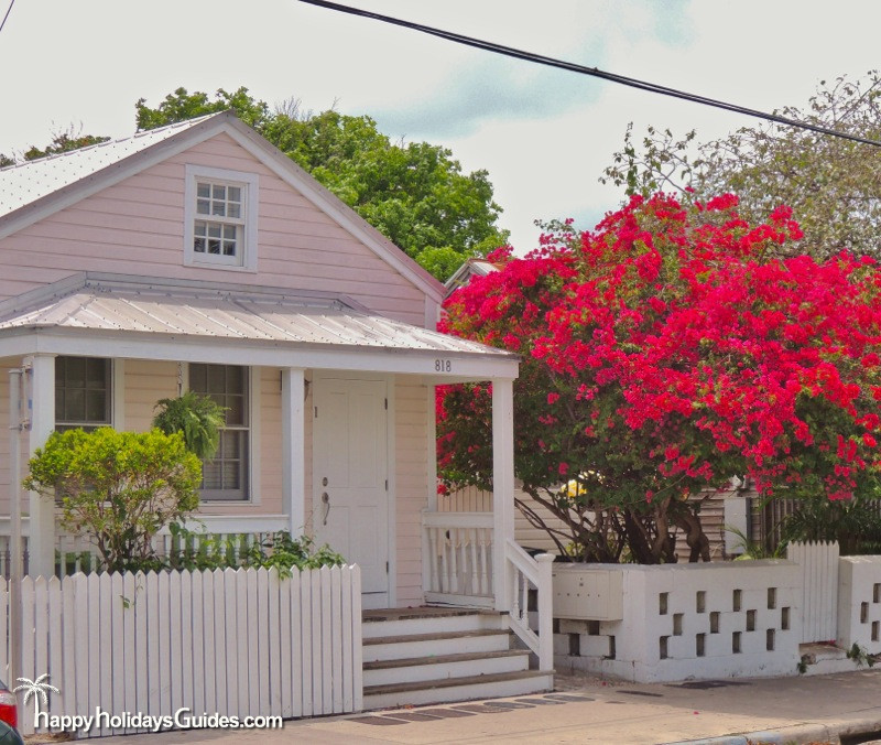 Key West Style Homes Pink House