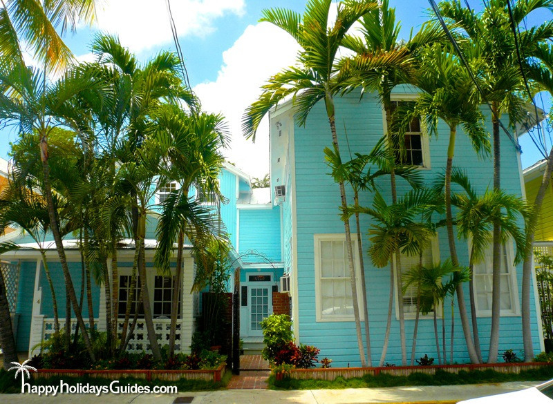 Key West Style Homes Turquoise Home