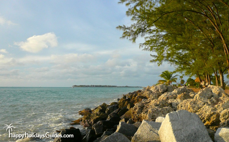 fort zachary taylor state park beach boulders