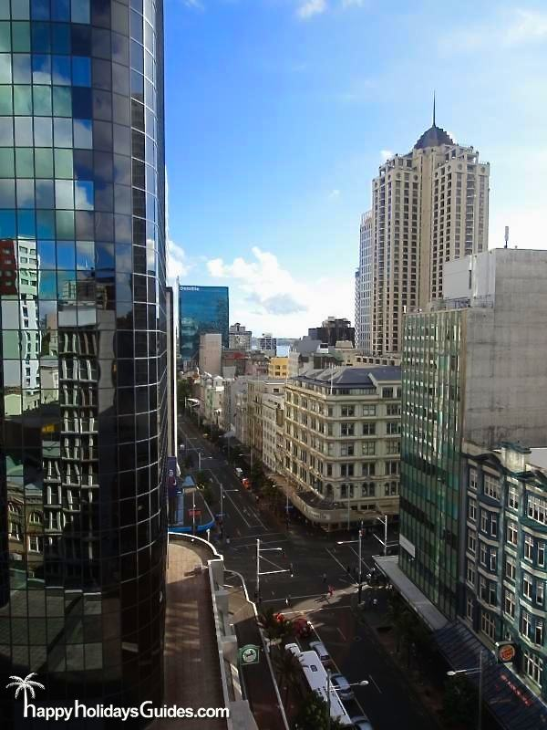 Auckland Downtown View