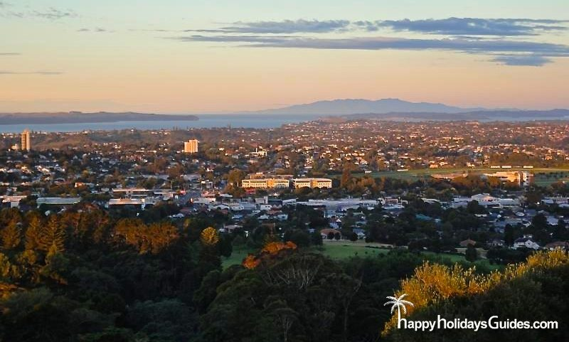 Auckland One Tree Hill View