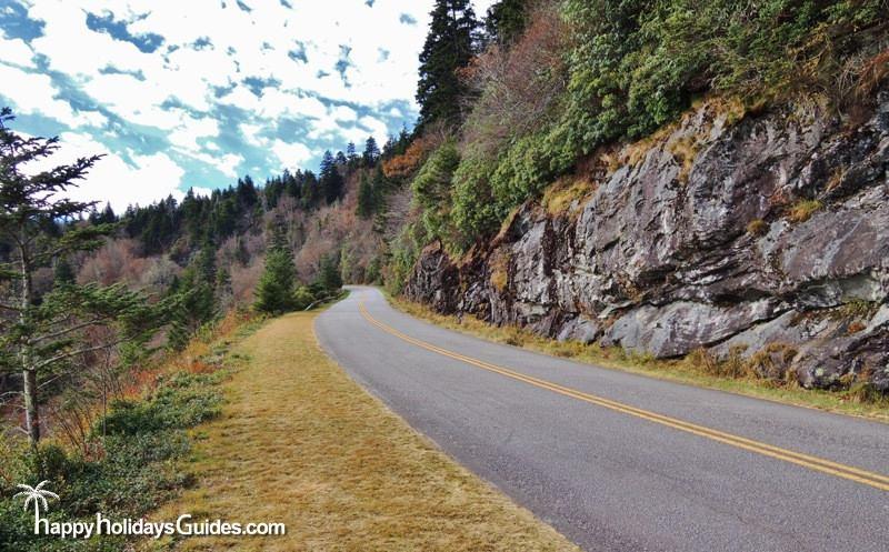 Blue Ridge Parkway Road View
