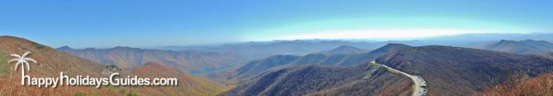 Blue Ridge Parkway Panorama