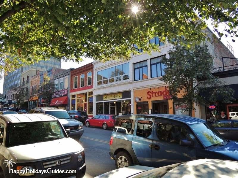 Broadway Street Downtown Asheville