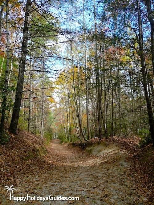 DuPont State Park Walking Trail