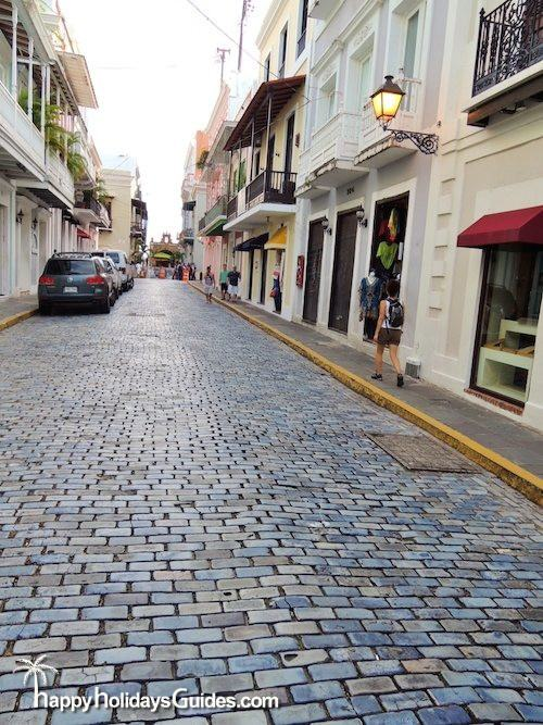 Old San Juan Blue Cobblestones