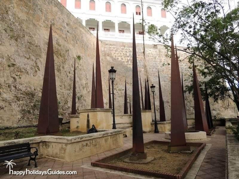 Old San Juan Park Sculpture