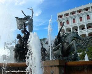 The Raices Fountain PR