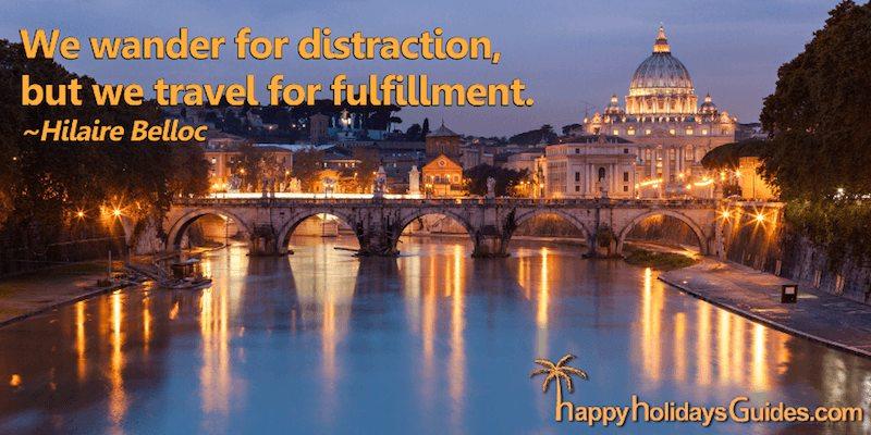 Travel Quote H Belloc