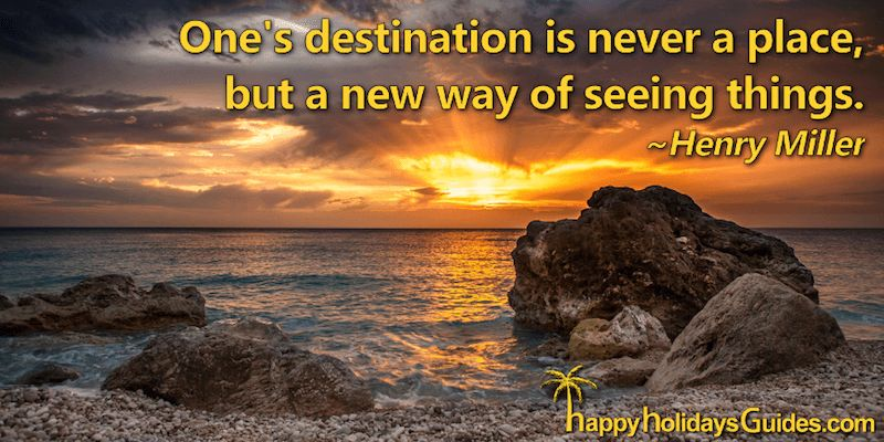 Travel Quote H Miller