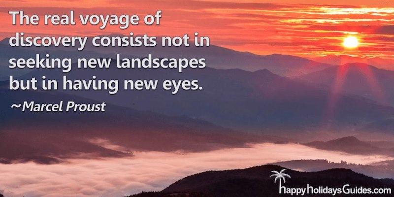 Travel Quote M Proust