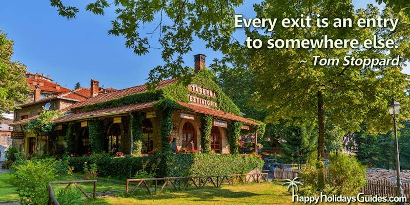 Travel Quote T Stoppard