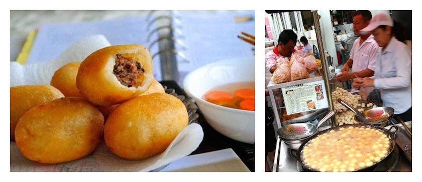Hanoi Street Food Fried Steamed Cake