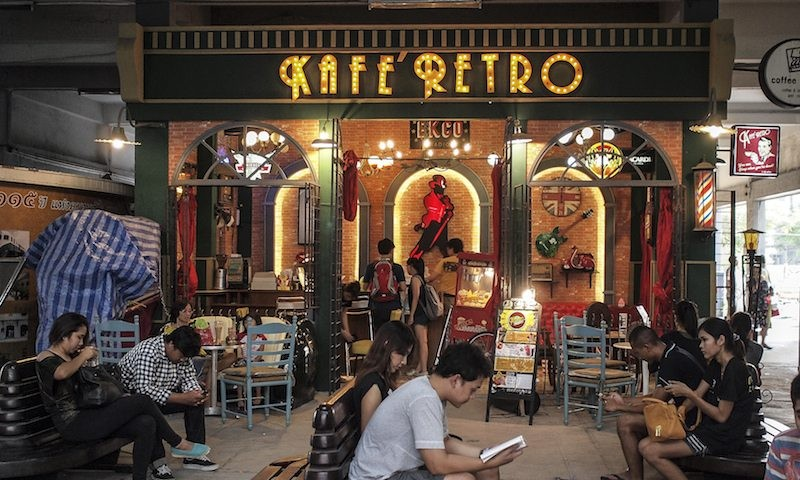 Rod Fai Market Bangkok