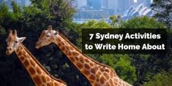 7 Sydney Activities